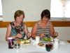 mary-merrick-and-patricia-mccormack-enjoying-the-delicious-food