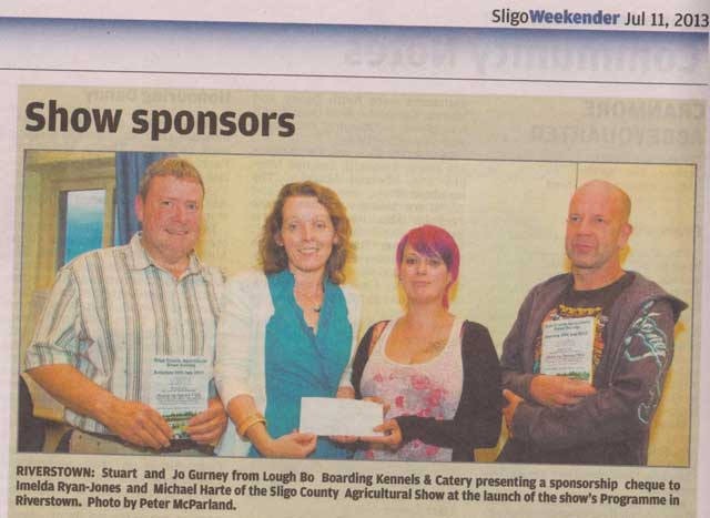 Community Notes Pages of Sligo Weekender 11th July
